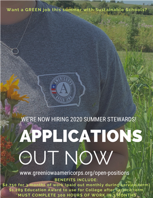 Americorp Summer Job Opportunity