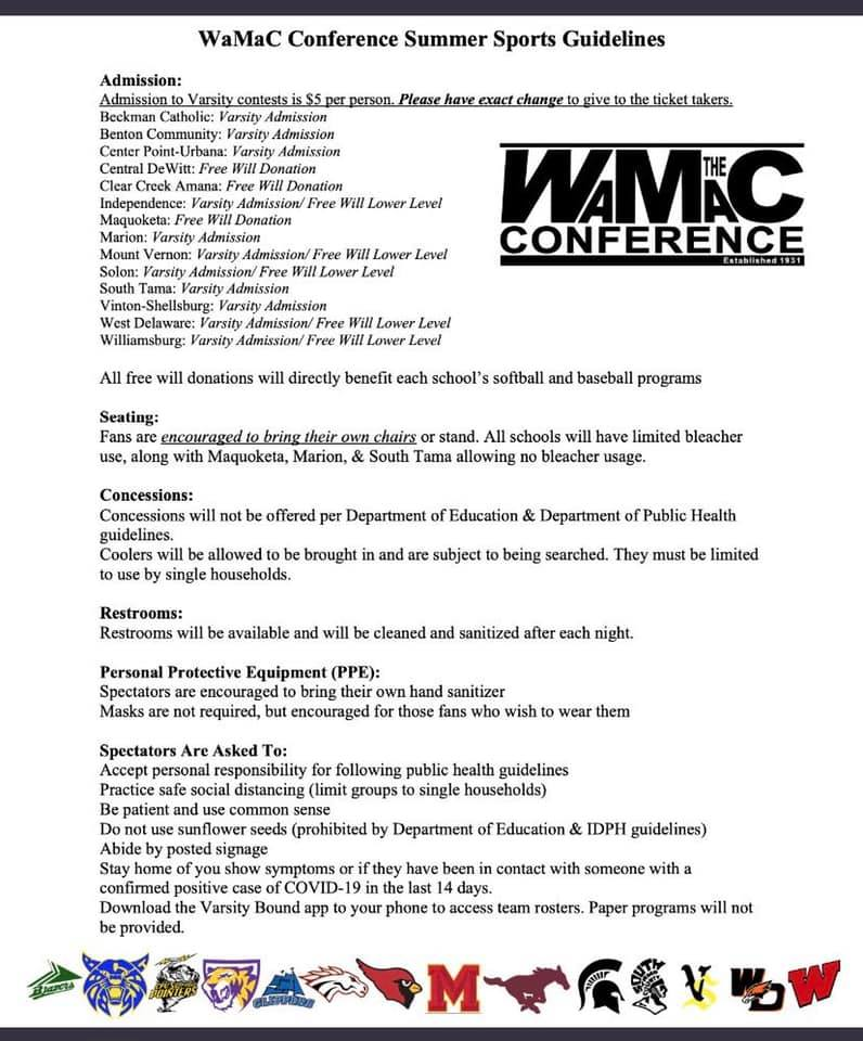 WMAC Conf guidelines