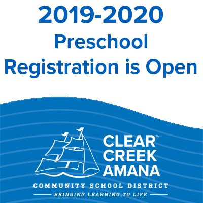 Preschool registration is open image