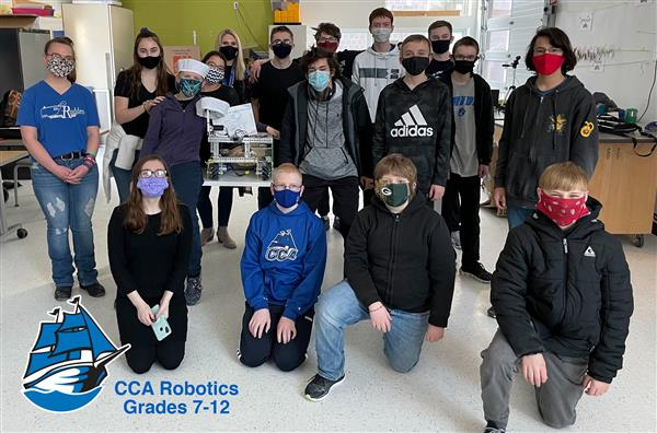 CCA Robotics Team photo