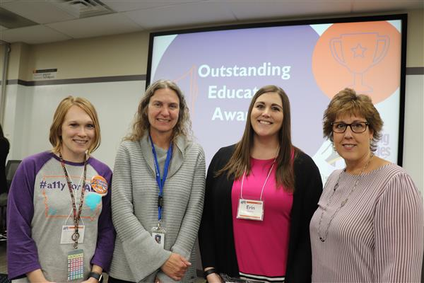 Erin Sheets Recognized as Building Bridges 2019 Outstanding Educator Award Winner