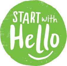 Start With Hello Week Logo